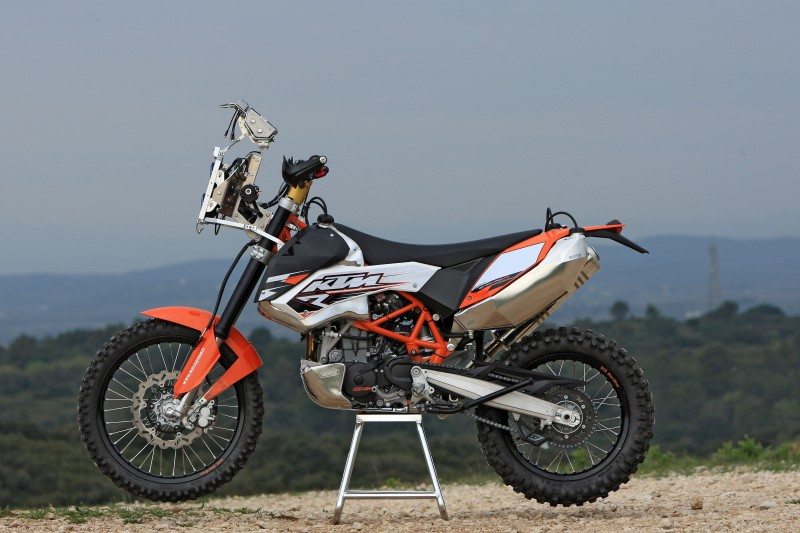 KTM 690 Enduro R, Rally Kit